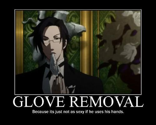Annoying ways to annoyed Black Butler characters.