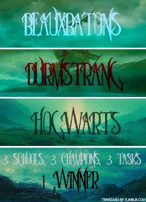 Triwizard tournament | Not quite as I remember ~Severus