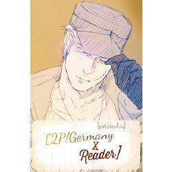 Jealousy | 2P!Germany x Reader
