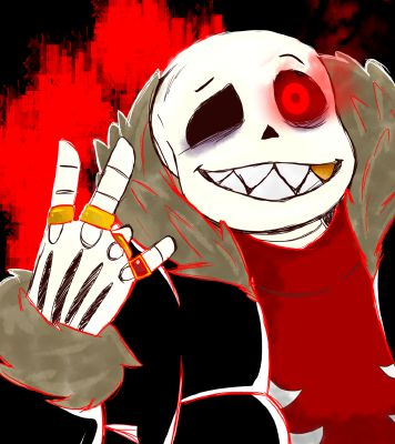 Love for hate( Underfell Sans x reader GENOCIDE ) | Undertale one