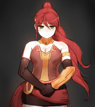 Pyrrha Nikos [RWBY] x Wolf Faunus! Female Reader (Part 2) | Yuri One