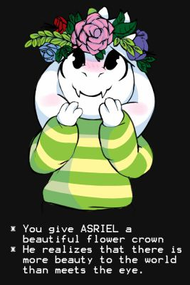 What does Asriel think of you? - Quiz
