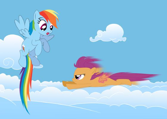 Dash For A New Life Heartwarming Romance Slice Of Life Tired scootaloo (sleepless in ponyville) | mlp: life heartwarming romance slice