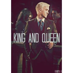 King and Queen (Draco x Reader)