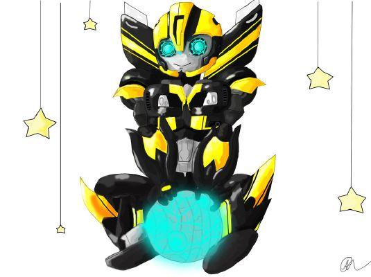 Innocent lovers (Prime Bumblebee X Autobot medic femme