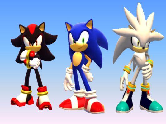 Werehog Sonic X Werehog Shadow X Werehog Silver X Human Reader