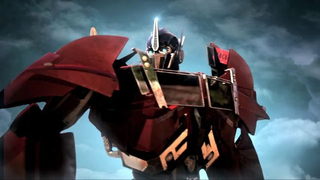 Protective! reader x Optimus Prime | Transformers prime