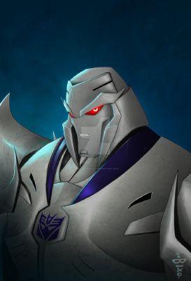 Megatron x Injured! Cyberwolf reader | Transformers prime