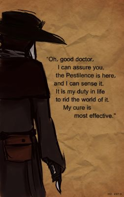 What does scp-049 the plague doctor think of you - Quiz