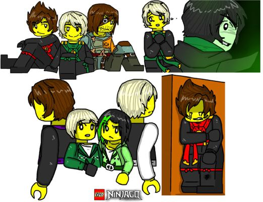 The fight with Kai and back by Morro xd | Ninjago!The new Adventure
