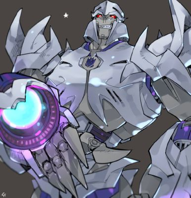 Just Like Sire~MegaTron X Sparkling!Reader | Transformers Prime X