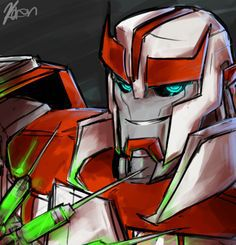 Frag~Synthetic!Ratchet X Cybertronian!Reader   Transformers