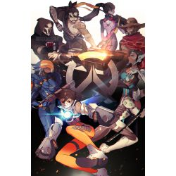McCree X Reader Poncho Cuddles | Overwatch x Reader (Various Series)