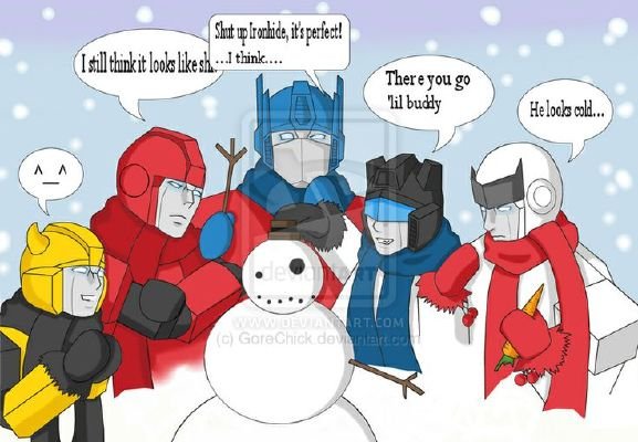 Autobot Snowball Fight