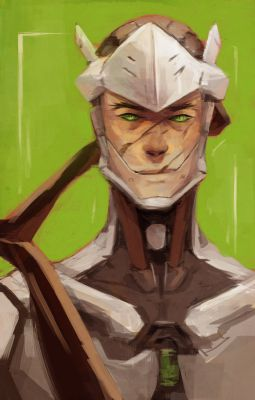 ▷thank you [genji x cyborg!reader] | 彡 mч hєrσ 彡