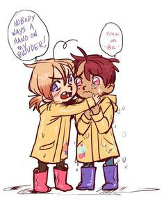 You're Perfect (2p FACE x Chubby Child Reader)   Hetalia Shots