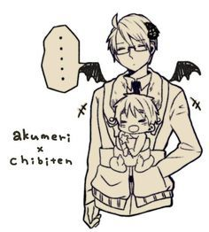 Demon!America x Child!Reader | 1/2P Hetalia x Various!Reader