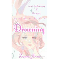 drowning [Student! Levi Ackerman X Depressed! Suicidal! Reader]