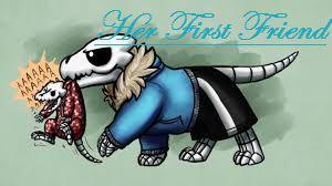 gaster blaster sans her first friend short reader x sans stories gaster blaster sans her first friend