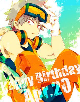 Omake: Katsuki's Birthday | A True Hero (Bakugou Katsuki x