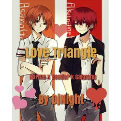 Love Triangle (Karma x Reader x Gakushu)