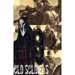 Old Soldiers (Gabriel Reyes/Reaper x reader)