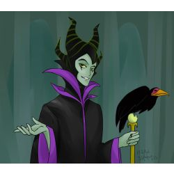 Male Maleficent Reader