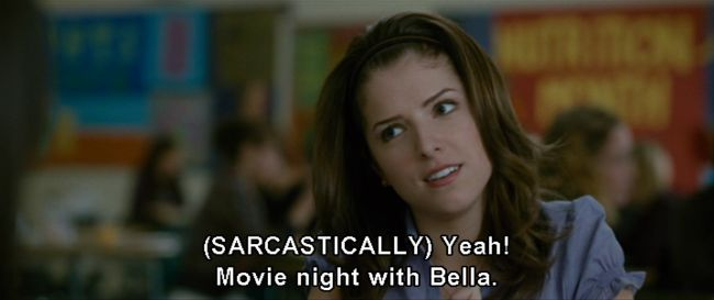 Woop, whoop, movie night with Bella | The Twilight Twist part two