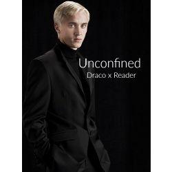 Bleached Blonde Stalker~ | Unconfined (Draco Malfoy x Reader)