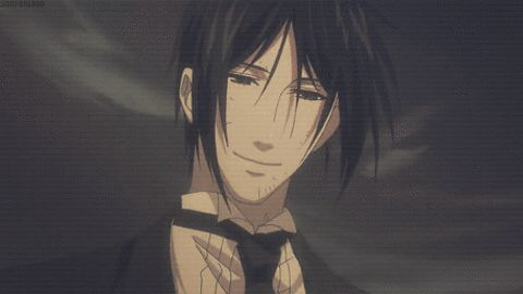The bird and the worm  Black butler (Sebastian x Blind!reader)