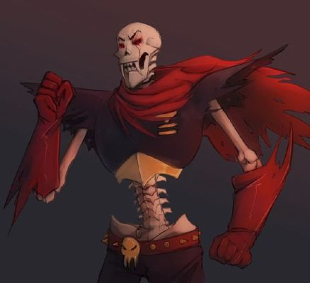 Papyrus | Meant to be mine~(yandere underfell sans x anti-social
