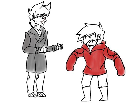 Tord x innocent?reader - Seeing Old Friends | Eddsworld x Reader