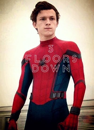 Drugged up~ | 3 floors down || Spider-Man FanFic