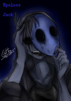L] Black And Blue (Eyeless Jack X Fem! Reader) | HIATUS- Creepypasta