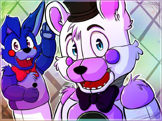 Shy stutters can find romance? (Funtime Freddy x Shy
