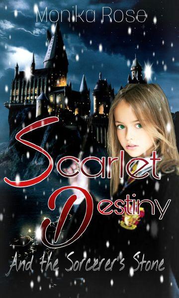 Scarlet Destiny and the Sorcerer's Stone |Harry Potter|