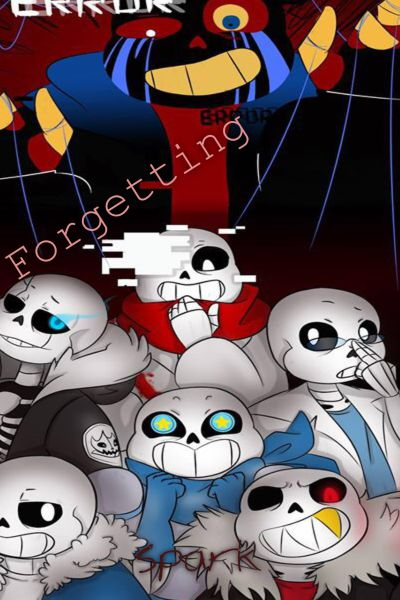 Forgetting (AU!Sans x Female!Dying!Depressed!Reader)