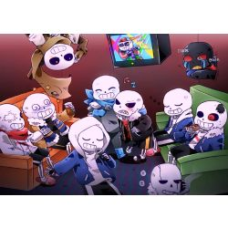 Undertale characters X Reader