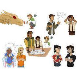 The demigod paladin (Voltron Percy Jackson crossover)