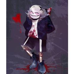 Bloody Love   (A Horrortale Sans x Reader) [HIATUS WILL LAST