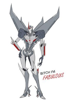Starscream x Insane!reader | Transformers prime/ bayverse