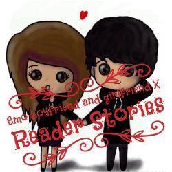 Emo boyfriend and girlfriend (X Reader Stories)