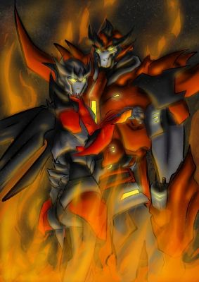 TFP Predaking x reader: You are my equal then you are my