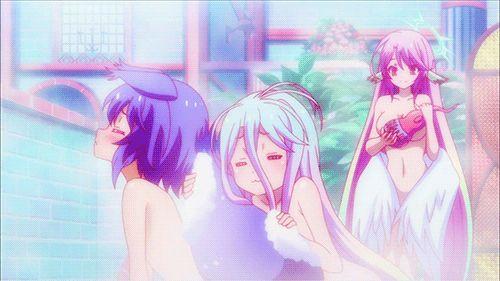 Shiro x Shota!Werebeast!Reader [No Game No Life] | Hold Me [Anime