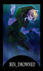 The pain of a drowned love | yandere! ben drowned x reader