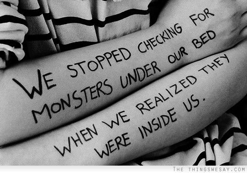 My Demons Kill (Creepypasta x Reader)