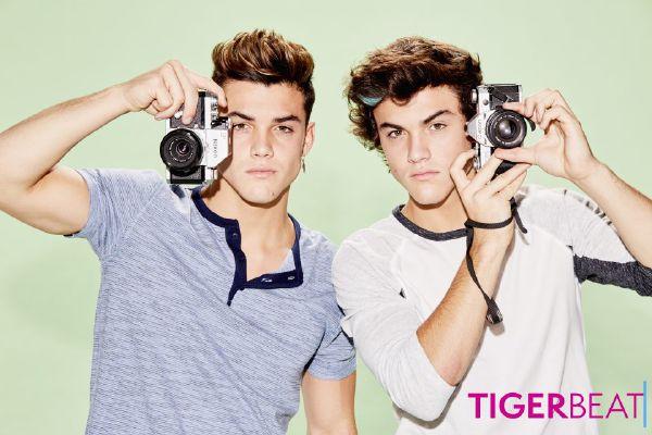 Celebrity fraternal twins