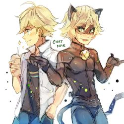 Miraculous x Undertale|Chat Noir/Adrien x Skeleton! OC|Loved to the Bone
