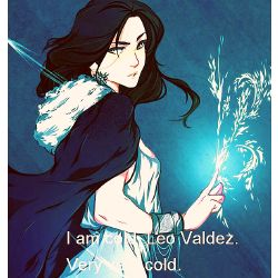 As Hot as Fire as Cold as Snow (Leo Valdez fanfic)