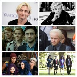 Another guy? (Harry potter/Descendants)
